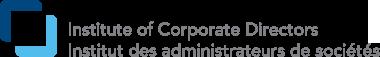 institute of corporate directors logo